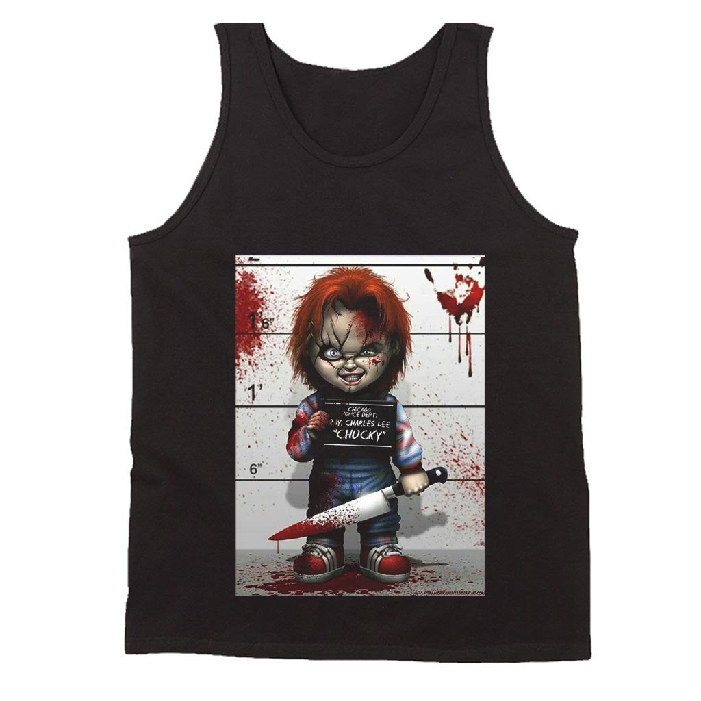 Chucky Men's Tank Top - Nuu Shirtz