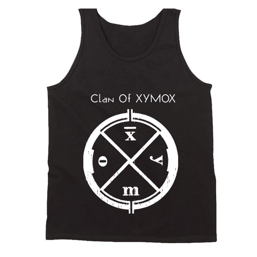 Clan Of Xymox Logo Shirt Darkwave Gothic Rock Sythpop Men's Tank Top - Nuu Shirtz