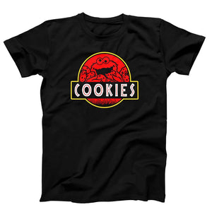 Cookie Monster Jurassic Park Sesame Street Men's T-Shirt - Nuu Shirtz