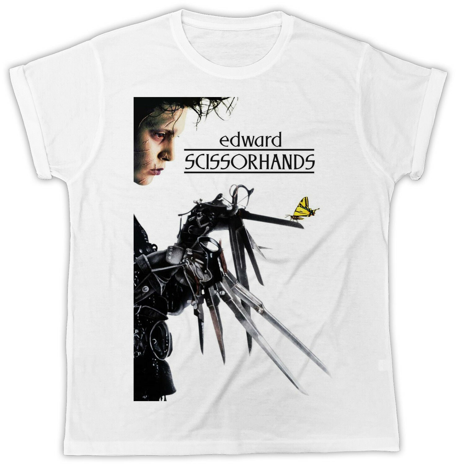 Cool Edward Scissorhands Movie Men's T-Shirt - Nuu Shirtz
