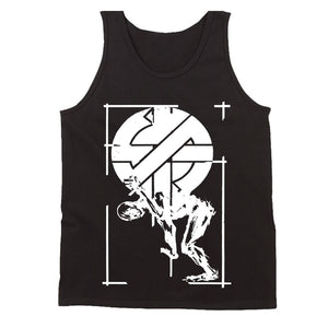 Crass Anarchy Punk Rock Men's Tank Top