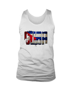 Cuba Flag Men's Tank Top - Nuu Shirtz