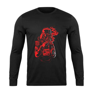 Dark Vader Star Wars Helmet Long Sleeve T-Shirt - Nuu Shirtz