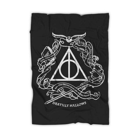Deathly Hallows And One Greeted Death Like An Old Friend Blanket - Nuu Shirtz