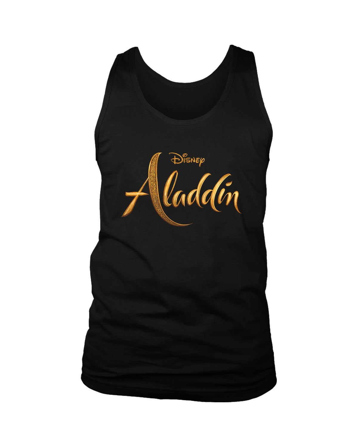 Disney Aladdin Logo Men's Tank Top - Nuu Shirtz