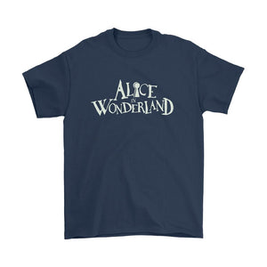 Disney Alice In Wonderland Logo Men's T-Shirt - Nuu Shirtz