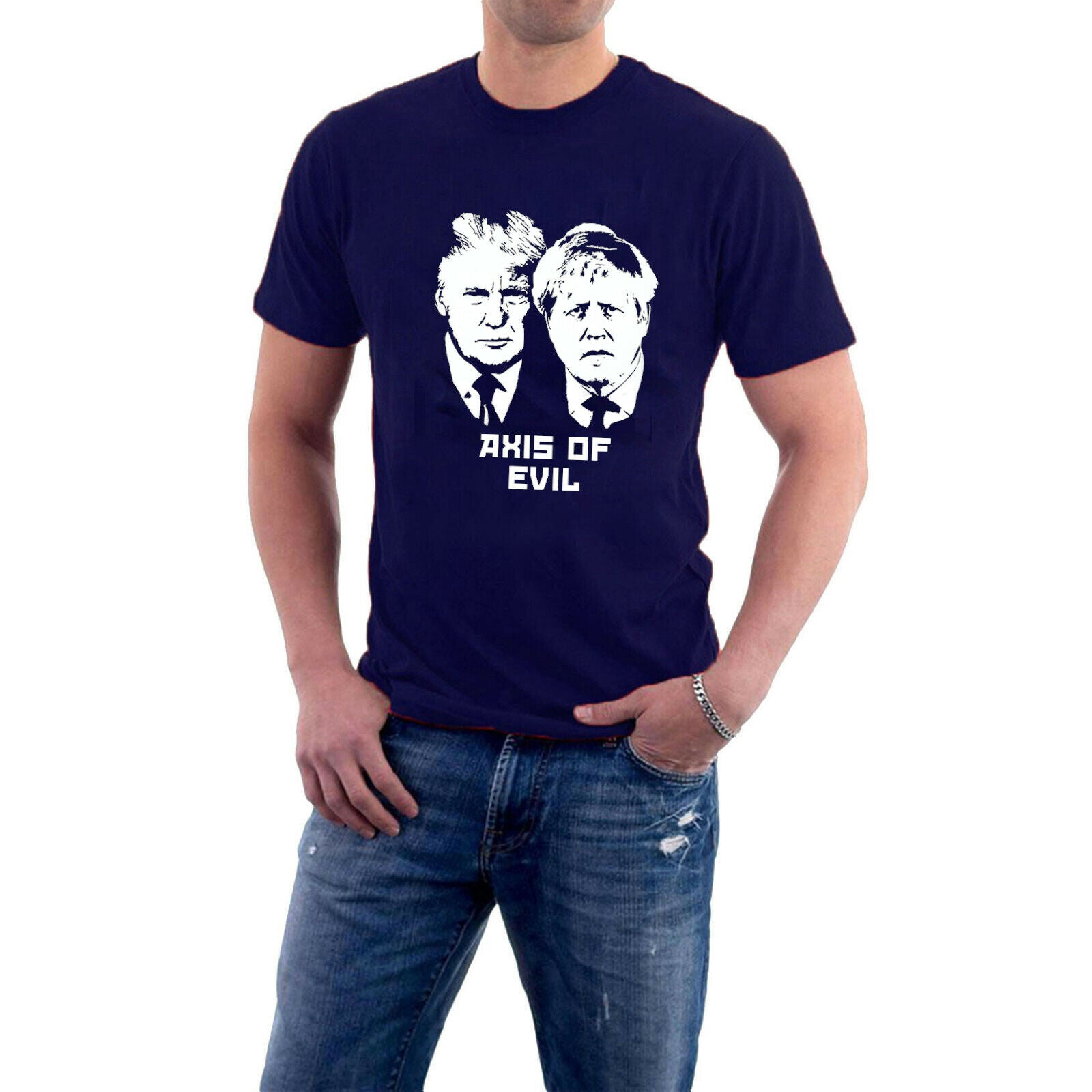 Donald Trump Boris Johnson Men's T-Shirt - Nuu Shirtz