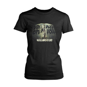 Dont Open Dead Inside The Walking Dead Women's T-Shirt - Nuu Shirtz