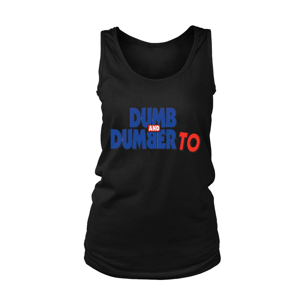 Dumb And Dumber To Women's Tank Top