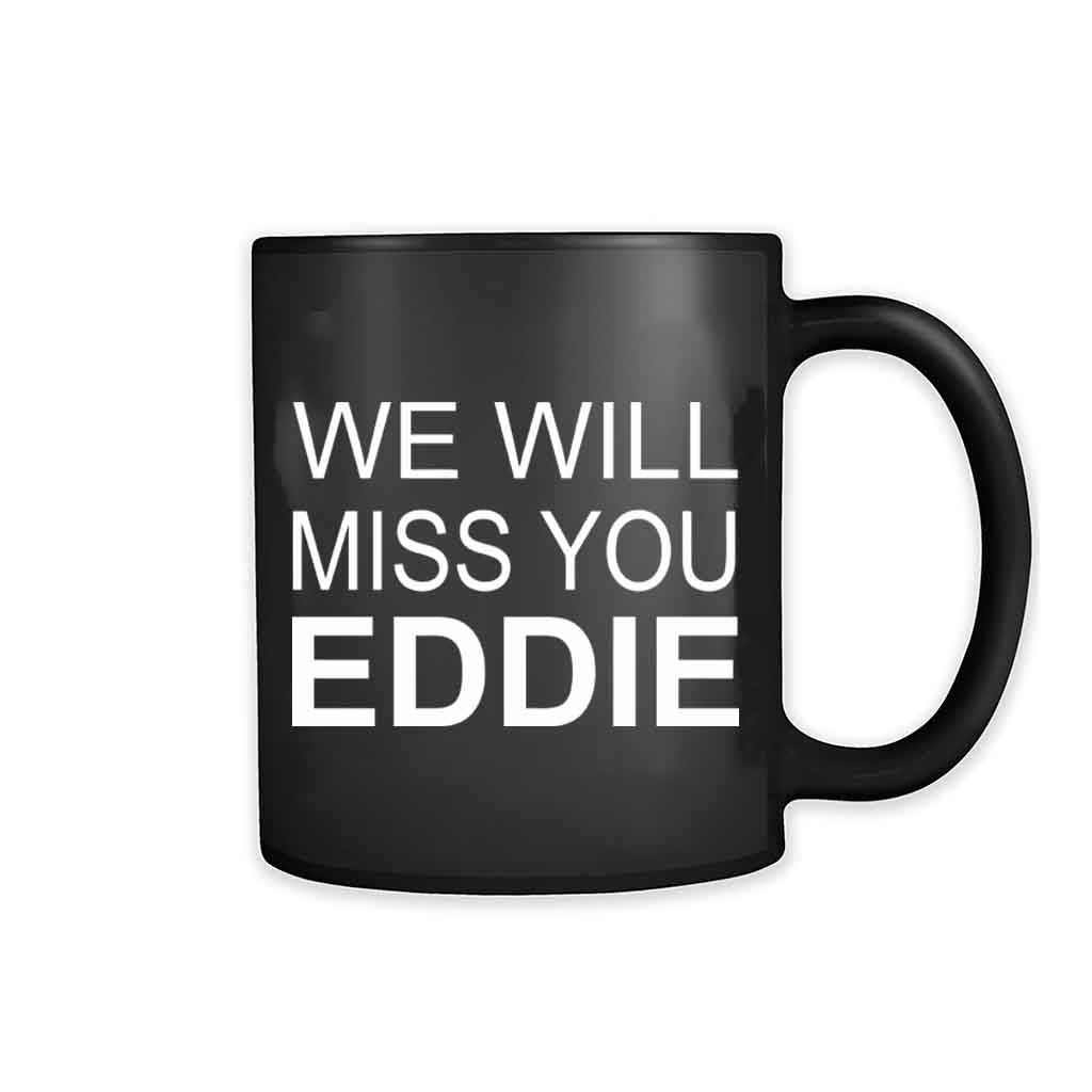 Eddie Van Halen We Will Miss You 11oz Mug