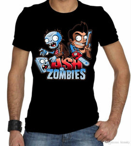 Evil Dead Plants Vs Zombies Men's T-Shirt - Nuu Shirtz