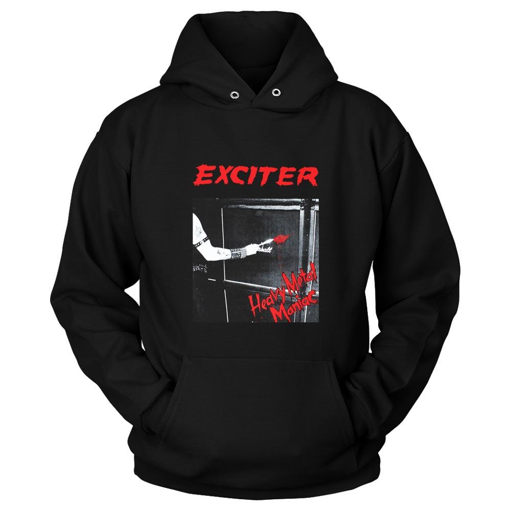 Exciter Heavy Metal Maniac Anvil Anthrax Speed Thrash Unisex Hoodie