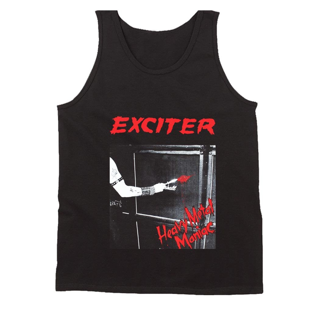 Exciter Heavy Metal Maniac Anvil Anthrax Speed Thrash Men's Tank Top - Nuu Shirtz