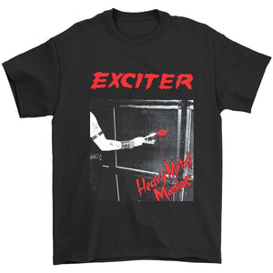 Exciter Heavy Metal Maniac Anvil Anthrax Speed Thrash Men's T-Shirt - Nuu Shirtz