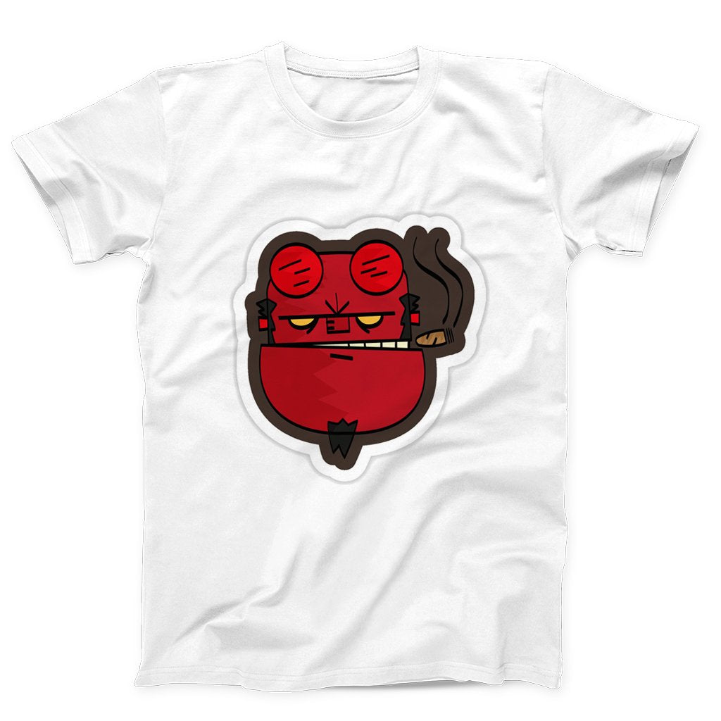 Face Funny Hellboy Men's T-Shirt - Nuu Shirtz