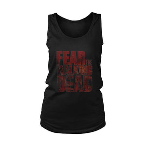 Fear The Walking Dead Logo Women's Tank Top