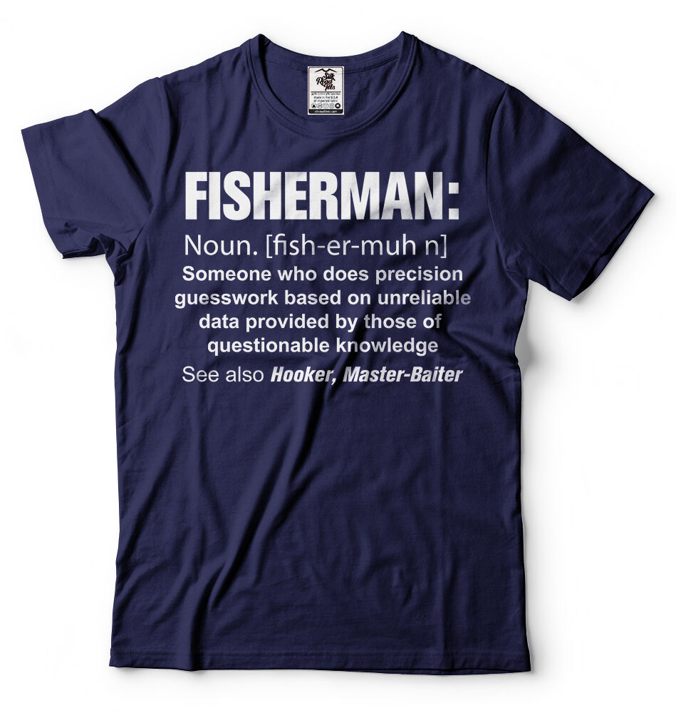 Fisherman Definition Cool Men's T-Shirt - Nuu Shirtz
