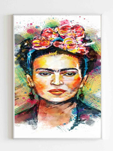 Frida Kahlo Painting Art Poster