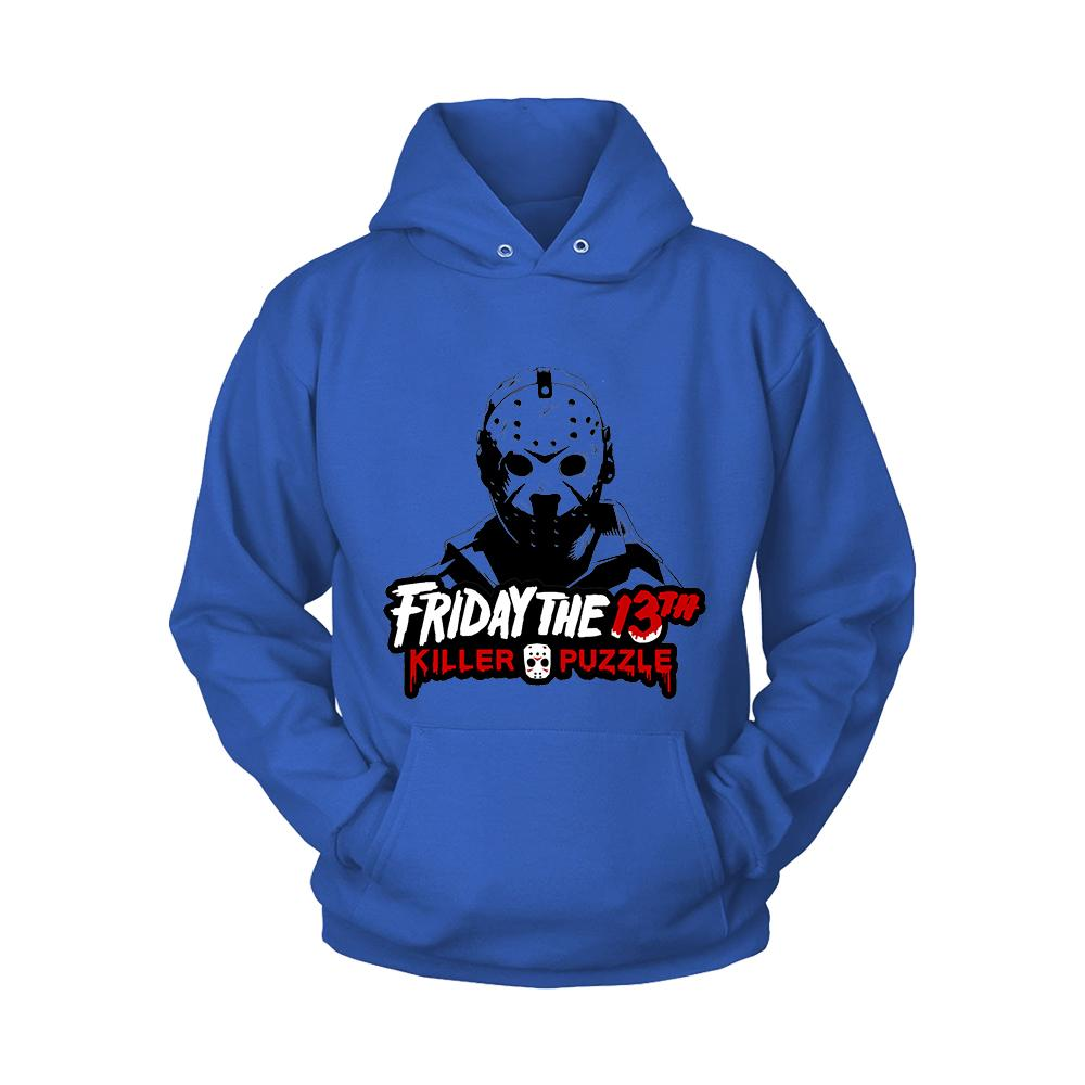 Friday The 13 Th Killer Puzzle Jason Voorhees Hoodie - Nuu Shirtz