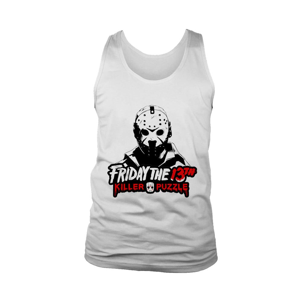Friday The 13 Th Killer Puzzle Jason Voorhees Men's Tank Top