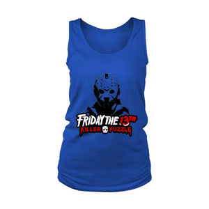 Friday The 13 Th Killer Puzzle Jason Voorhees Women's Tank Top