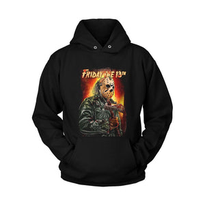 Friday The 13th Art Poster Unisex Hoodie - Nuu Shirtz