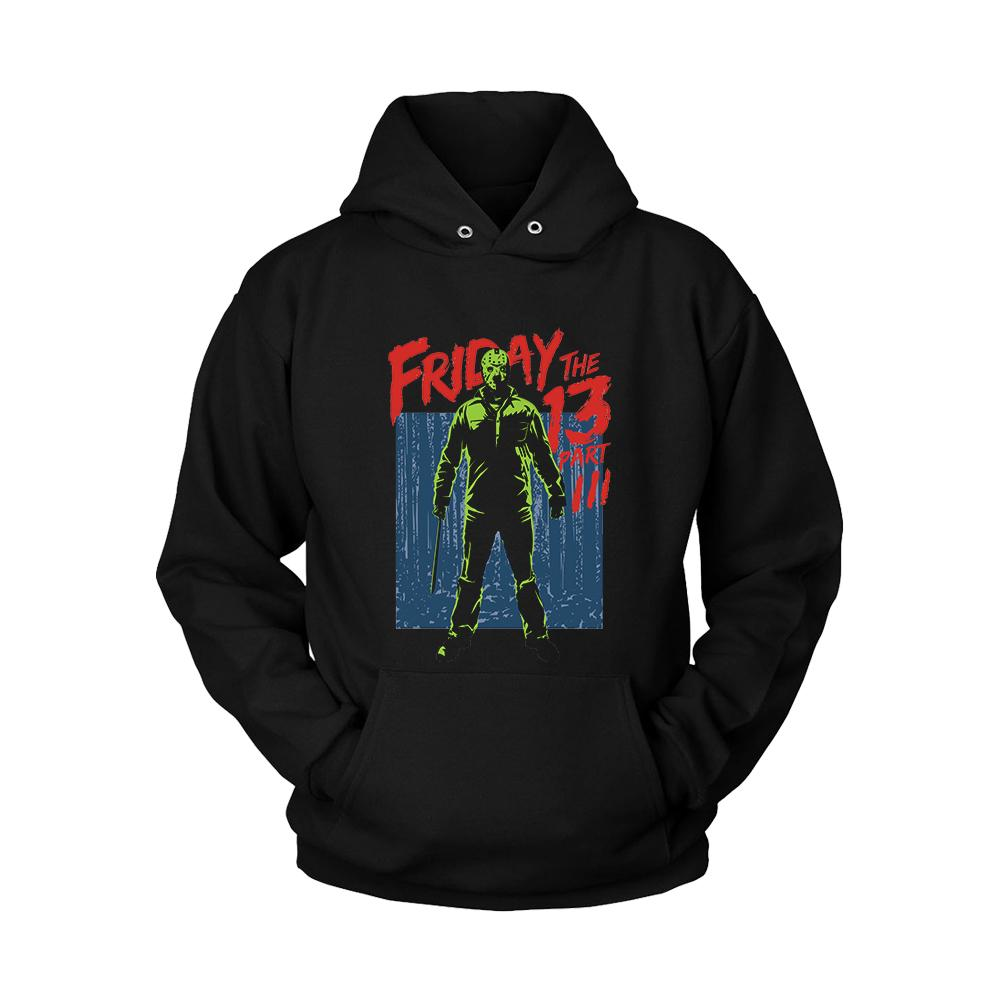 Friday The 13th Part 3 Unisex Hoodie - Nuu Shirtz
