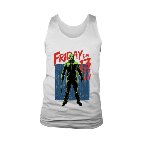 Friday The 13th Part 3 Men's Tank Top