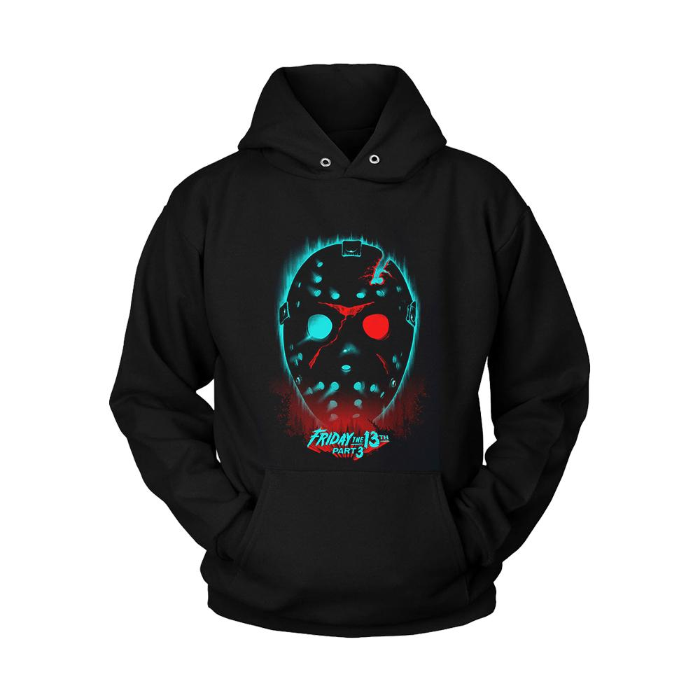 Friday The 13th Part 3 Poster Unisex Hoodie - Nuu Shirtz