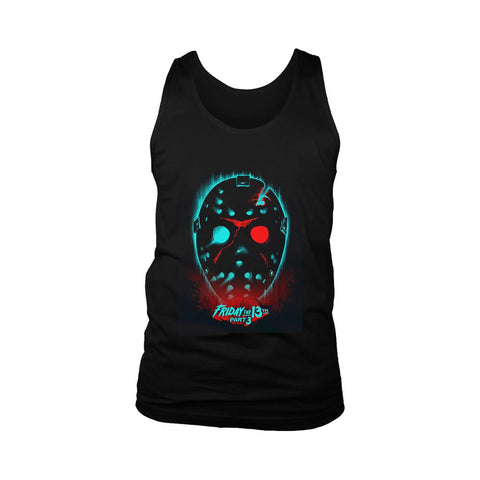 Friday The 13th Part 3 Poster Men's Tank Top