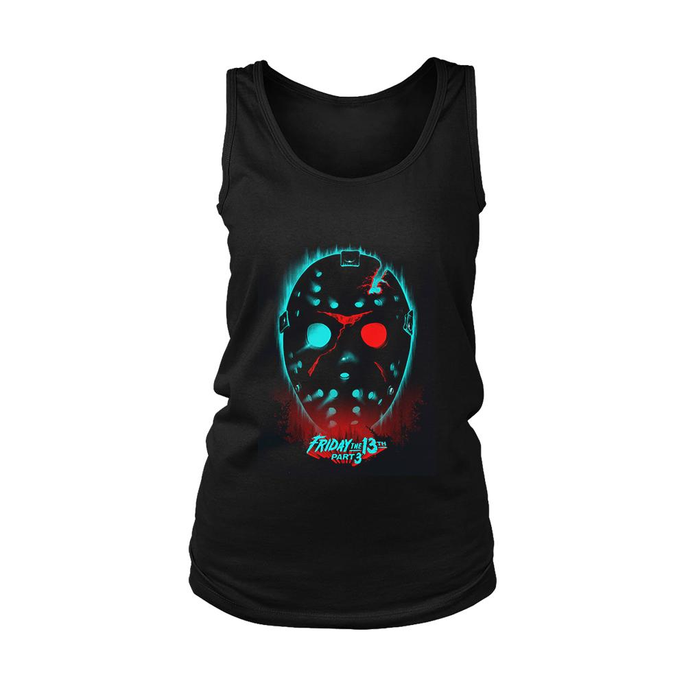 Friday The 13th Part 3 Poster Women's Tank Top - Nuu Shirtz