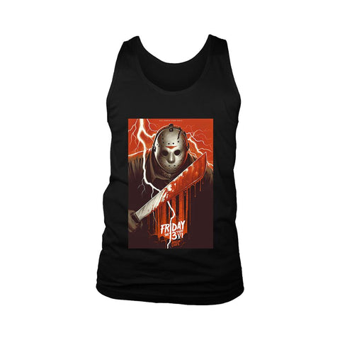 Friday The 13th Part 4 Poster Jason Lives Men's Tank Top
