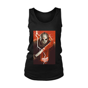 Friday The 13th Part 4 Poster Jason Lives Women's Tank Top