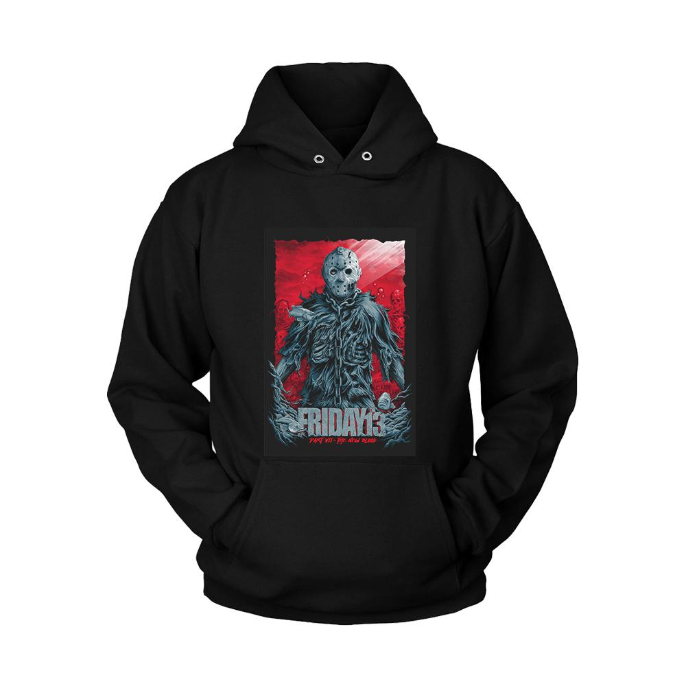 Friday The 13th Part 7 The New Blood Poster Unisex Hoodie - Nuu Shirtz