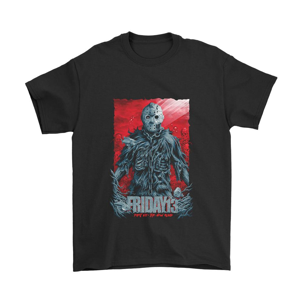 Friday The 13th Part 7 The New Blood Poster Men's T-Shirt - Nuu Shirtz