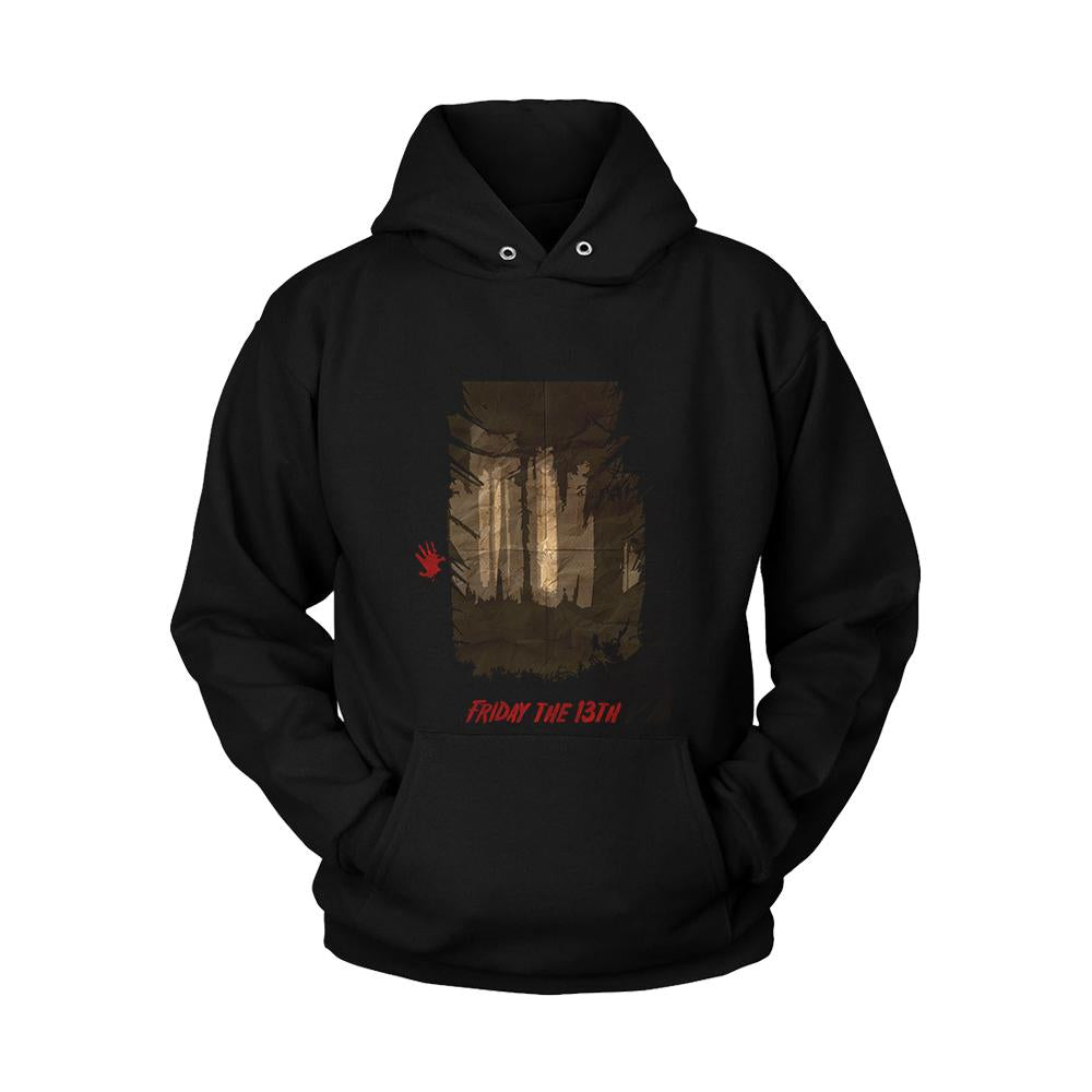 Friday The 13th Poster Unisex Hoodie