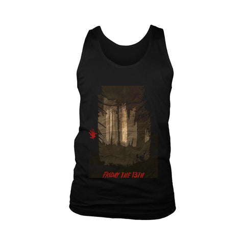 Friday The 13th Poster Men's Tank Top