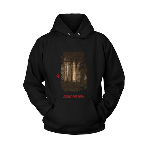 Friday The 13th Poster Unisex Hoodie - Nuu Shirtz