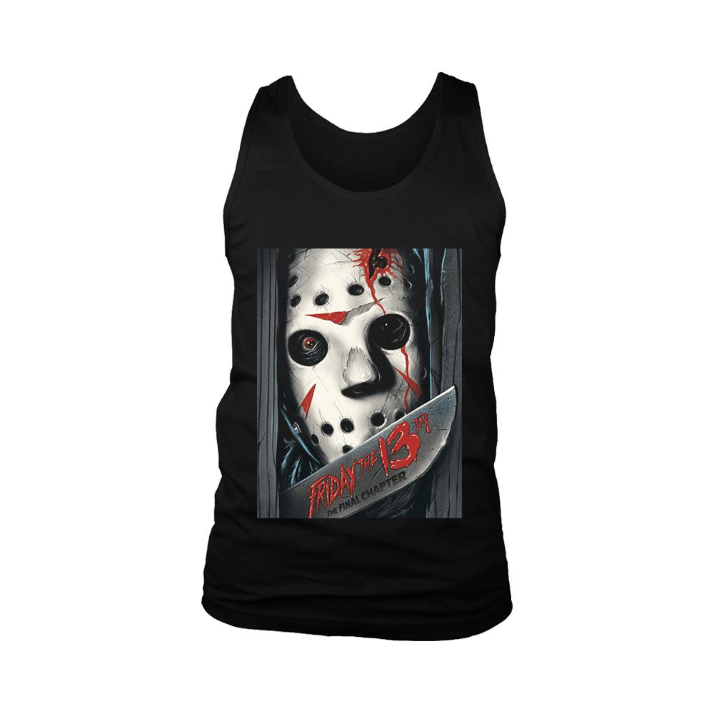 Friday The 13th The Final Chapter Poster Men's Tank Top - Nuu Shirtz