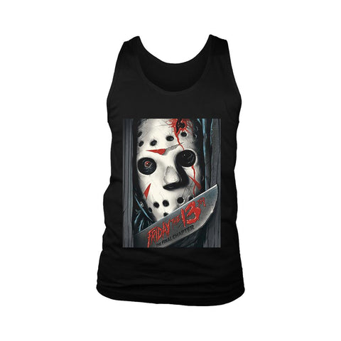 Friday The 13th The Final Chapter Poster Men's Tank Top