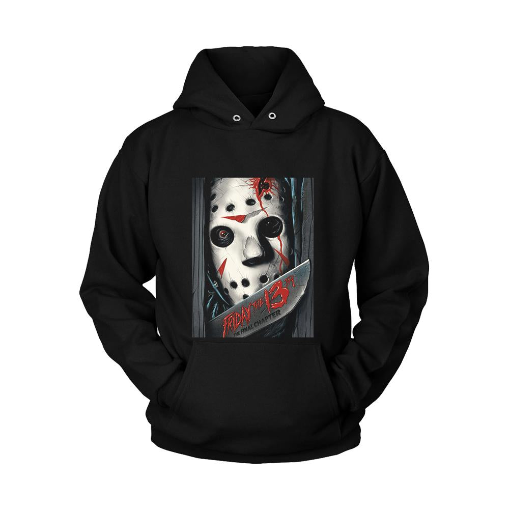 Friday The 13th The Final Chapter Poster Unisex Hoodie