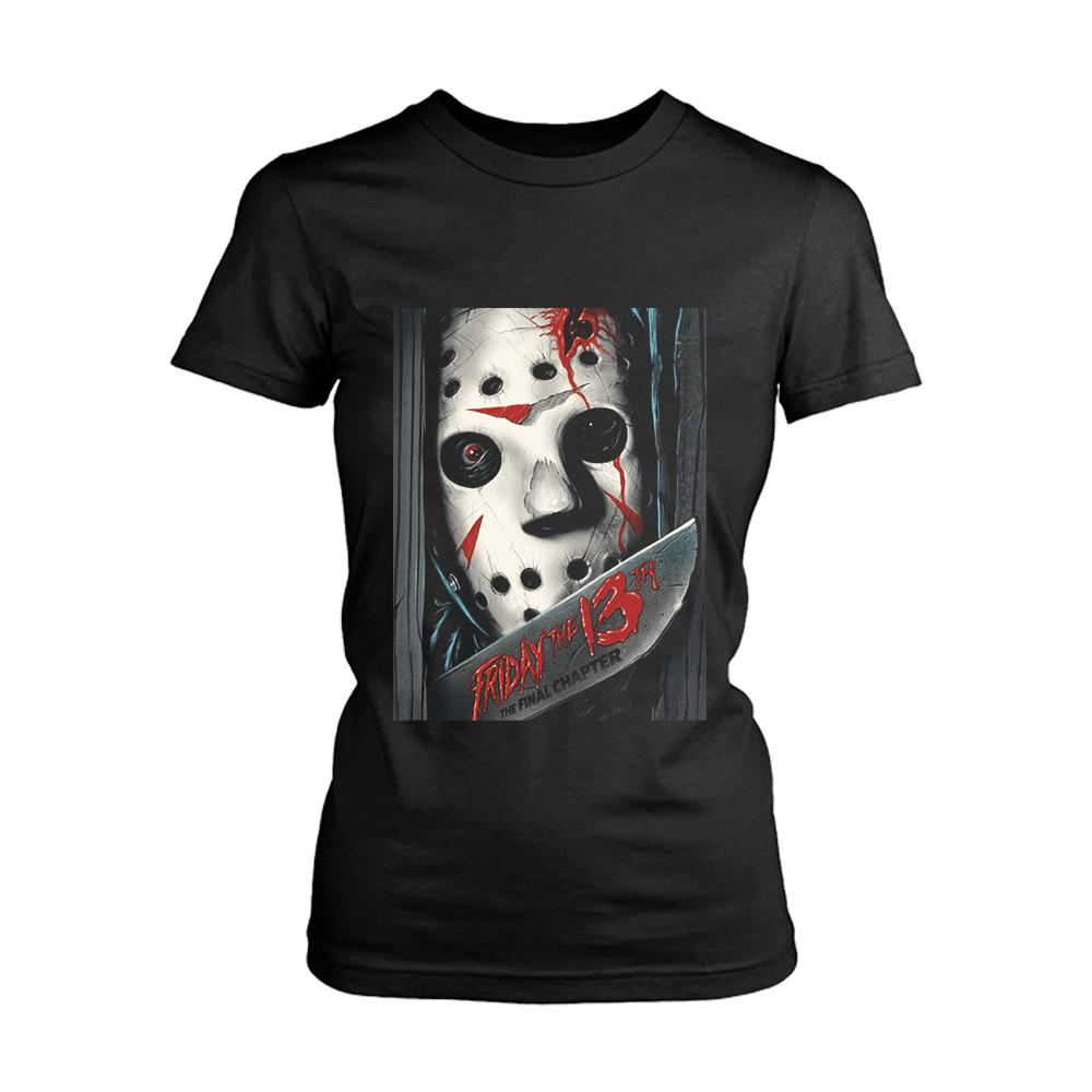 Friday The 13th The Final Chapter Poster Women's T-Shirt