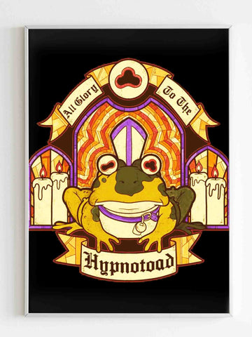Frog Logo All Glory To Him Exclusive Poster - Nuu Shirtz