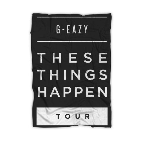 G Eazy These Things Happen Tour Blanket