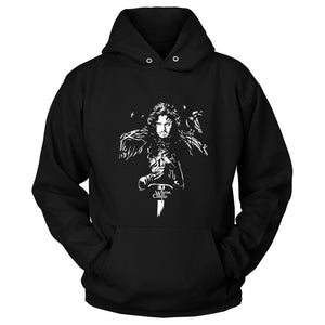 Game Of Thrones Jon Snow Crow Wolf Night Watch Unisex Hoodie - Nuu Shirtz