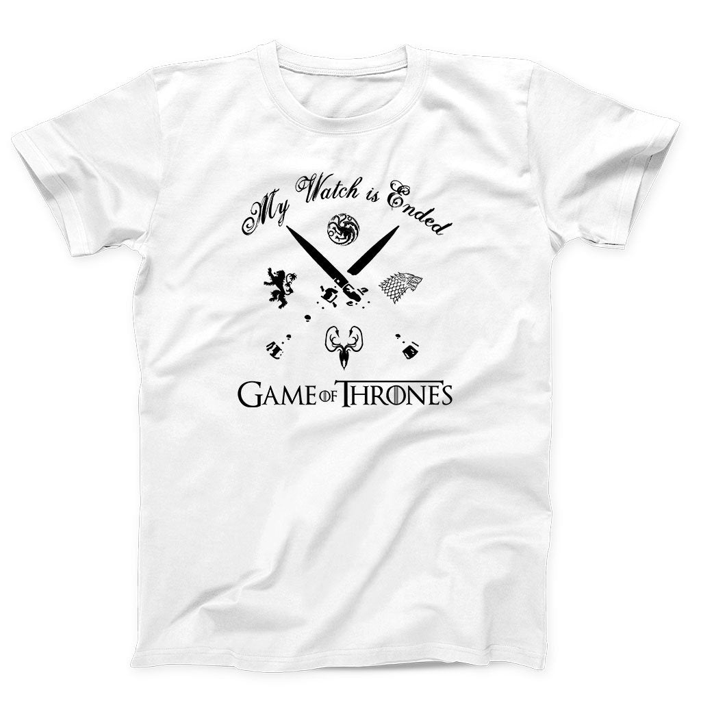 Game Of Thrones My Watch Is Ended Men's T-Shirt - Nuu Shirtz