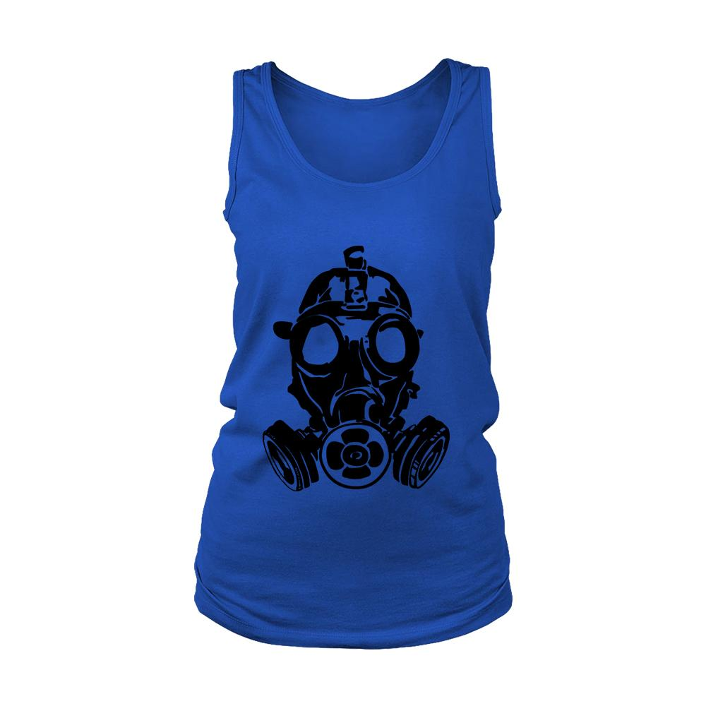 Gas Mask Women's Tank Top - Nuu Shirtz