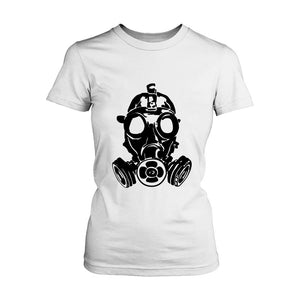 Gas Mask Women's T-Shirt - Nuu Shirtz