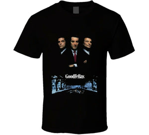 Goodfellas Retro 90S Gangster Movie Men's T-Shirt - Nuu Shirtz