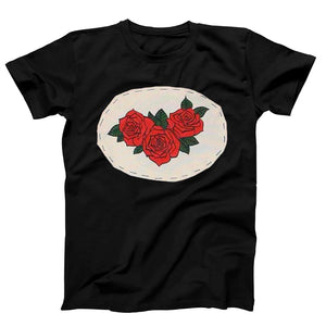 Hand Stitched Roses Men's T-Shirt